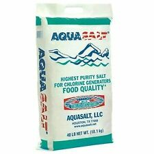 Aquasalt SALT40 Swimming Pool High Purity Salt 40 Lbs.