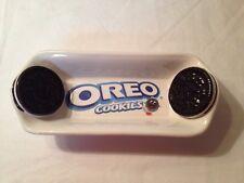 Oreo Ceramic Cookies Dish Tray Snack Bowl Kraft #31995 Blue Black Red White