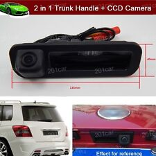 2 in 1 Trunk Handle + Reverse Parking Camera For Ford Focus hatchback 2011-2019