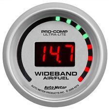 Autometer 4379 Ultra-Lite Digital Air/Fuel ratio Gauge 2-1/16 in., Electrical