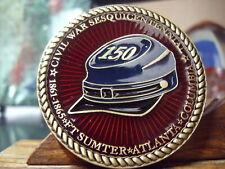 Civil War Sesquicentennial - Ft Sumter - Atlanta - Columbia Bronze Medal Suvcw
