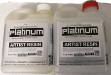 EPOXY ART Artist Resin - Ultra CLEAR coating - UV stable 4 ltr