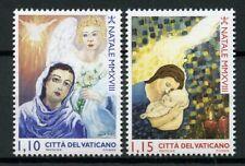 Vatican City 2018 MNH Christmas Nativity Angels 2v Set Stamps