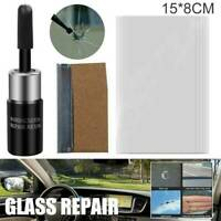 Car Window Glass Crack Chip Resin Windscreen Windshield Repair DIY Tool Kit NEW