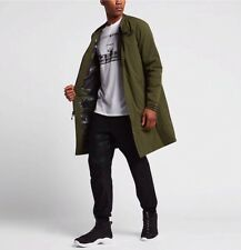 Nike Air VARSITY Giacca Cappotto Parka Slim Fit Legion Green Piccolo