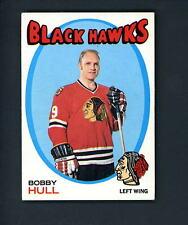 1971 1972 Topps # 50 Bobby Hull Black Hawks EX+++