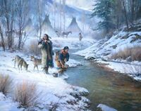 """Days of the Coldmaker"" Martin Grelle Limited Edition Fine Art Giclee Canvas"