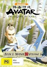 Avatar - The Last Airbender - Water : Book 1 : Vol 3 (DVD, 2008)(D90)