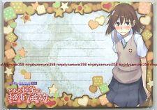 To Aru Kagaku no Railgun memo mouse pad promo anime mikoto misaka majutsu index
