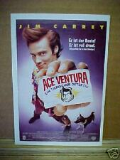 ACE VENTURA, PET DETECTIVE, film card (Jim Carrey)