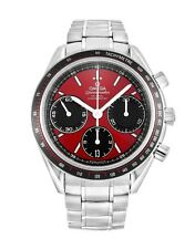 Omega 326.30.40.50.11.001 Speedmaster Racing Red Dial Men's Chronograph Watch