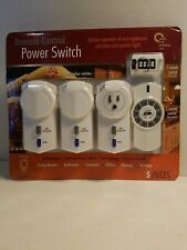 WINPLUS AC51530-140 Remote Control Power Switch Set Wireless NEW SEALED FAST S&H