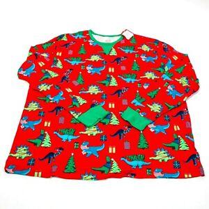 Men's Big & Tall Holiday Dinosaur Matching Family Pajama Set - Wondershop 3X 3XB