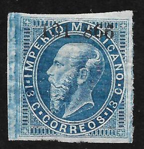 MEXICO -1866, MAXI.- 13c., IXTLAHUACA, 131-866  - UNUSED, $15.00