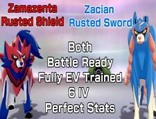 Pokemon Shield Sword Legendary BOTH Zamazenta Zacian Perfect Stats - Fast Trade