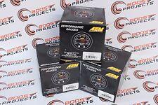 AEM X-Series AFR Wideband UEGO Gauge+Boost Pressure+Oil Pressure Gauge Kit