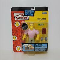 Playmates The Simpsons RAINIER WOLFCASTLE Figure World of Springfield Series 11