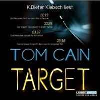 TOM CAIN - TARGET 5 CD HÖRBUCH NEW