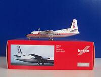 Herpa Wings 557047 - LTU Fokker 27 - Metallmodell limited Edition - 1:200