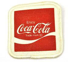 VINTAGE COCA COLA COKE USA STAFFA rappezzi Uniform ricamate patch EMBLEMS