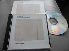 EVAN PARKER ELECTRO-ACOUSTIC ENSEMBLE : MEMORY / VISION CD ALBUM ECM 1852