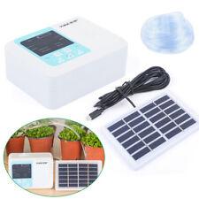 Solar Powered Auto Drip Irrigation System Garden Sprayer Self Watering System Us