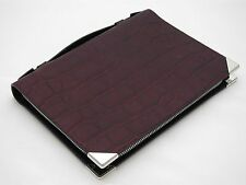 ALEXANDER WANG Prisma Burgundy croc-effect leather iPad mini case BNWOT