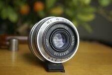 Industar-50 3.5/50 M39 Soviet Lens for FED Leica Zorki (Tessar) TESTED