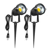 1-10PCS 5W LED Landscape Light Outdoor Garden Path Waterproof Lamp 3000K 120V