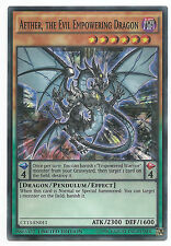 Aether, the Evil Empowering Dragon CT13-EN011 Super Rare Yu-Gi-Oh Card English
