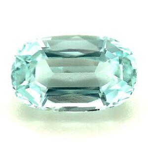 1.84ct Bluish Aquamarine, Cushion,  VS Pakistan Natural Gemstone *Video*