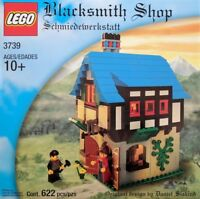 LEGO Castle - Rare Classic - Blacksmith Shop 3739 - Complete w/ Box