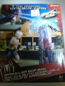 Spiderman water bop bag (NEW) sprinkler