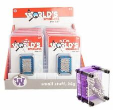 444144 WORLDS SMALLEST 3D PIN ART ASSORTED COLOURS
