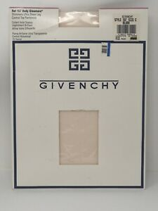 Givenchy Pantyhose Size C BLUSH Body Gleamers Ultra Sheer Leg Control Top 157