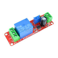 12V DC Conduction Delay Relay Shield Module NE555 Timing Turn-on Timer Switch
