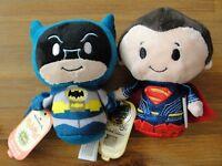Itty Bittys BATMAN & Limited Edition SUPERMAN Brand New