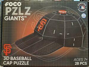 MLB San Francisco Giants FOCO PZLZ  3D Puzzle Helmet  New Sealed