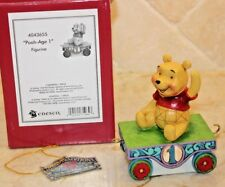 Jim Shore Disney Birthday Train Numbers Winnie the Pooh Age 1 - HTF