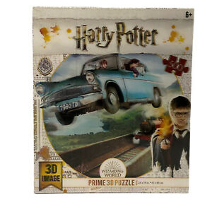 """Harry Potter Flying Ford Anglia 3D Image Prime 500 Jigsaw Puzzle 24"""" x 18"""" New"""