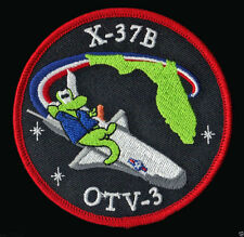 OTV 3 X 37B ORBITAL TEST VEHICLE  ATLAS V BOEING ULA USAF SPACE LAUNCH PATCH