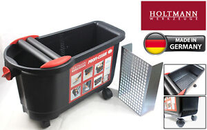Holtmann Gmbh Washboy 24L Pro Tileres WashBucket, Metal Grid and Twin Rollers