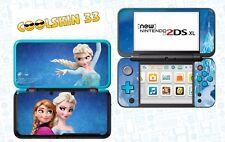 Die eiskönigin - vinyl Skin Aufkleber für Nintendo NEW 2DS XL (C-Stick)- réf 194