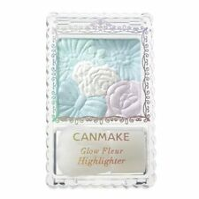 Made in JAPAN Canmake 01 Planet Light Glow Fleur highlighter with Soft Brush