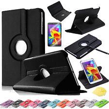 """360° Samsung Galaxy Tab-4 7"""" SM-T230N/T235N Schutz Hülle Tasche Cover Case 11"""