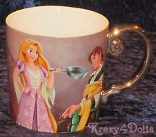 Disney Designer Fairytale Doll Collection Rapunzel And Flynn Coffee Mug NEW