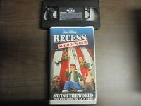 "USED VHS MOVIE Walt Disney ""Recess""  School's Out"