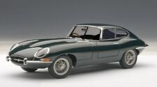 JAGUAR E-TYPE COUPE SERIES I 3.8 in Green in 1:18 Scale by AUTOart  73612