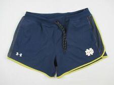 Notre Dame Fighting Irish Under Armour Shorts Women's Navy HeatGear New Large