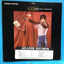 Robbie Patton-Orders From Headquarters-1982-Atlantic-PROMO-VG++/M- UNPLAYED ROCK